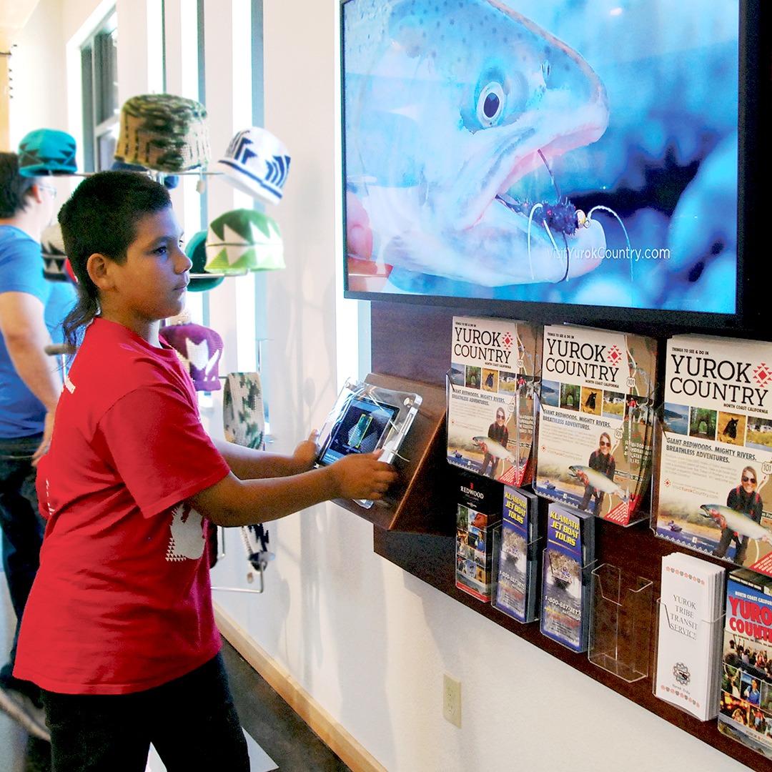 Yurok County Visitor Center | Interactive Exhibit | Klamath, CA