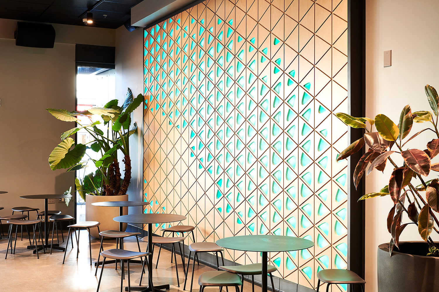 QuickFish Restaurant | Wall Accents | Portland, OR