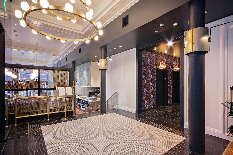 The State Hotel | Elevator Entrance | Seattle, WA