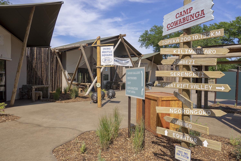 Topeka Zoo | Entrance Signage | Topeka, KS