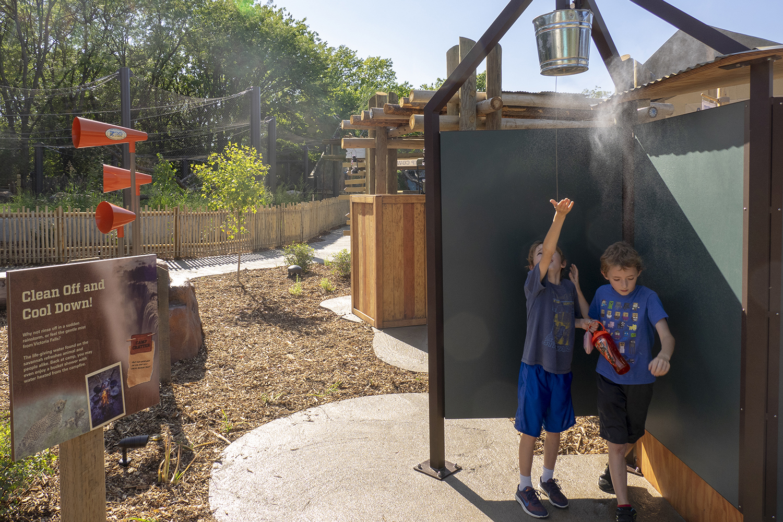 Topeka Zoo | Cool Down Station | Topeka, KS