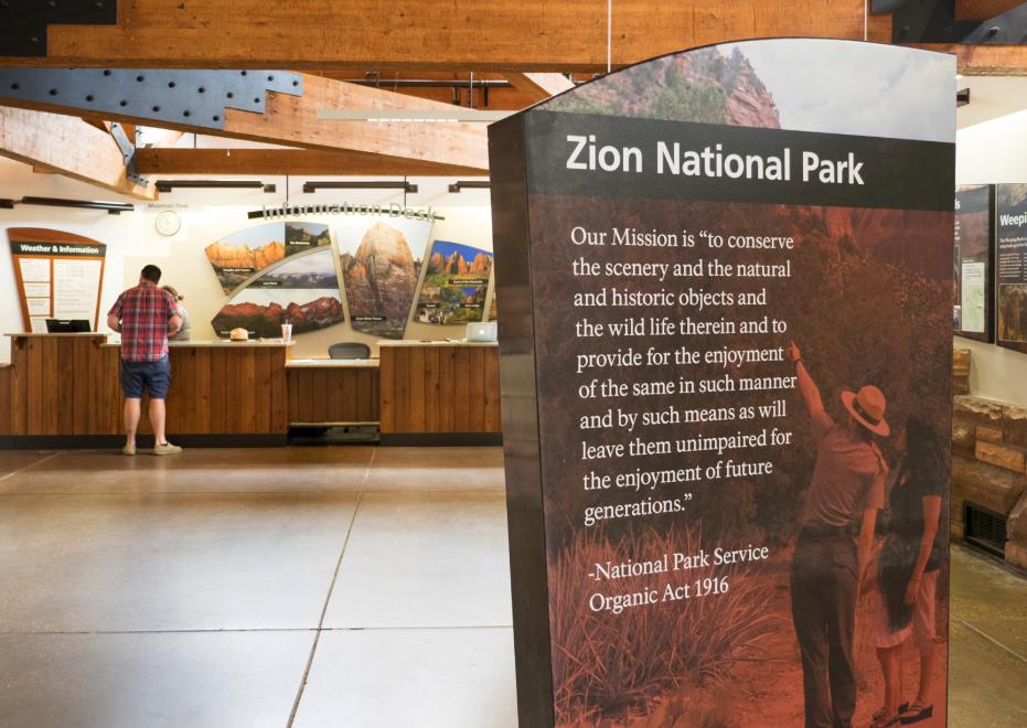 Zion National Park | Kiosk | Zion, Utah