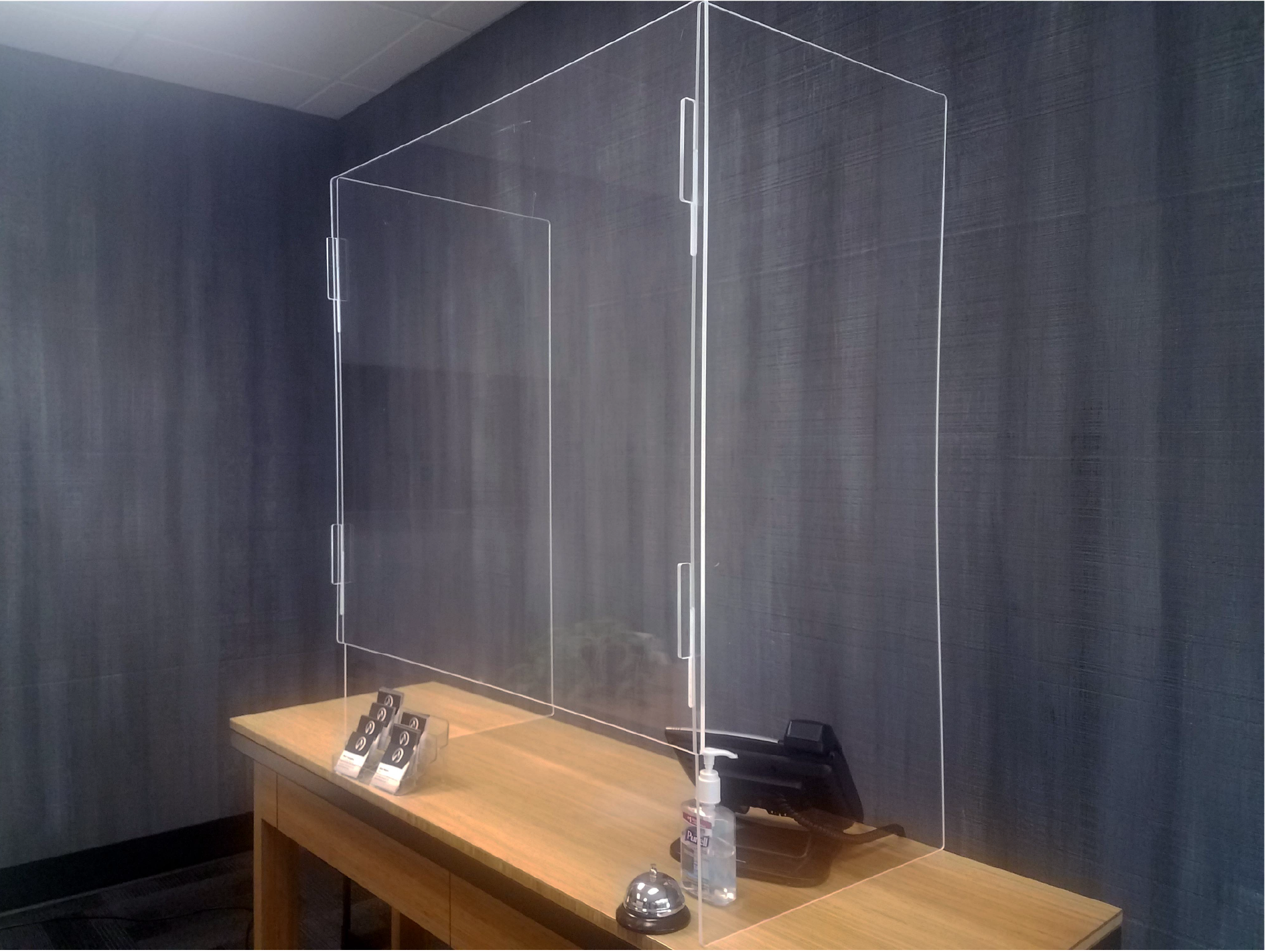 Plexiglass barriers