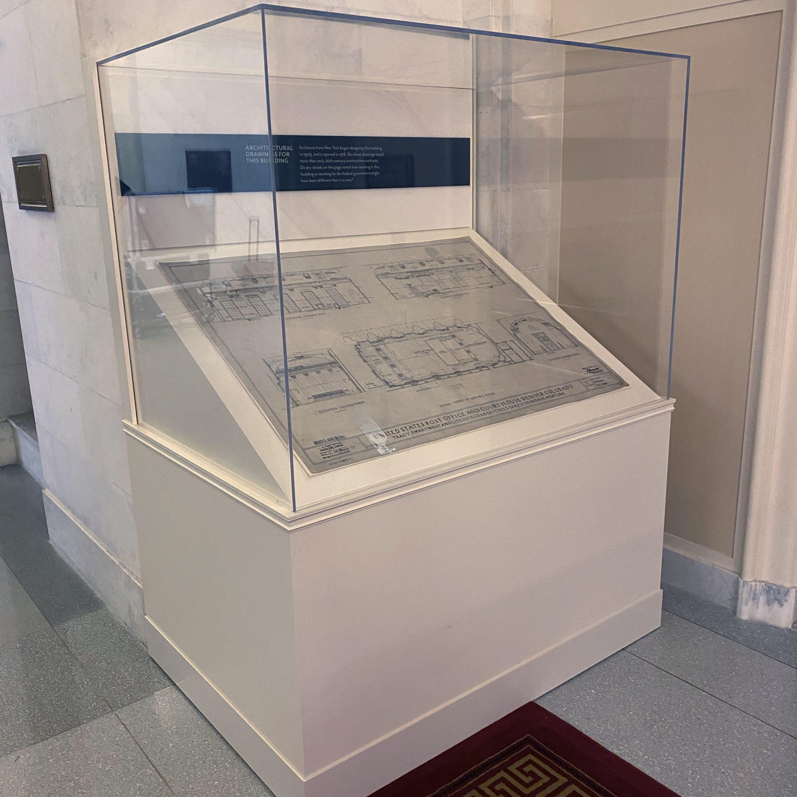 Tenth Circuit Court | Architecture Exhibit - Square | Denver, CO