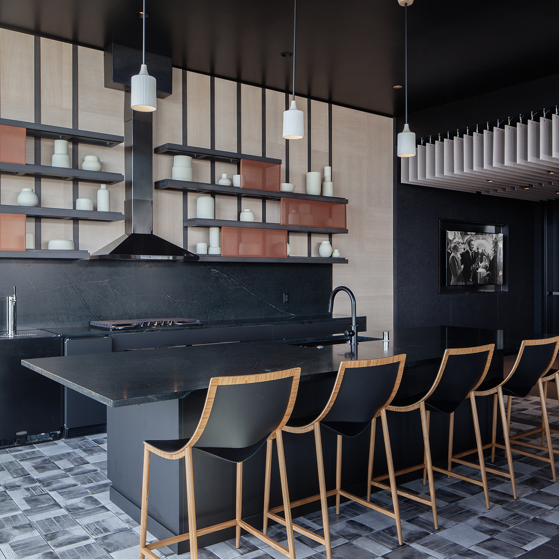 23rd & Jackson | Sky Lounge Casework | Seattle, WA - Square