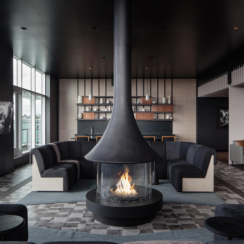 23rd & Jackson | Sky Lounge Banquette | Seattle, WA - Square