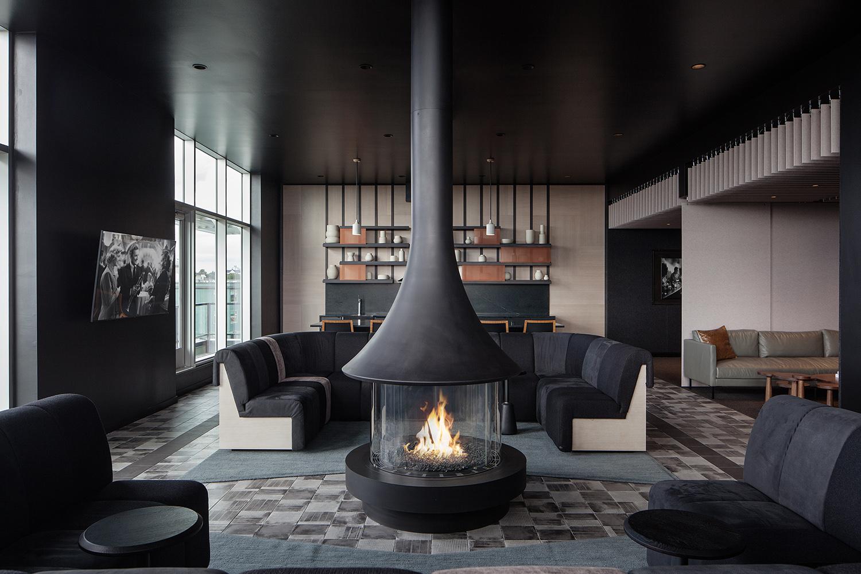 23rd & Jackson | Sky Lounge Banquette | Seattle, WA