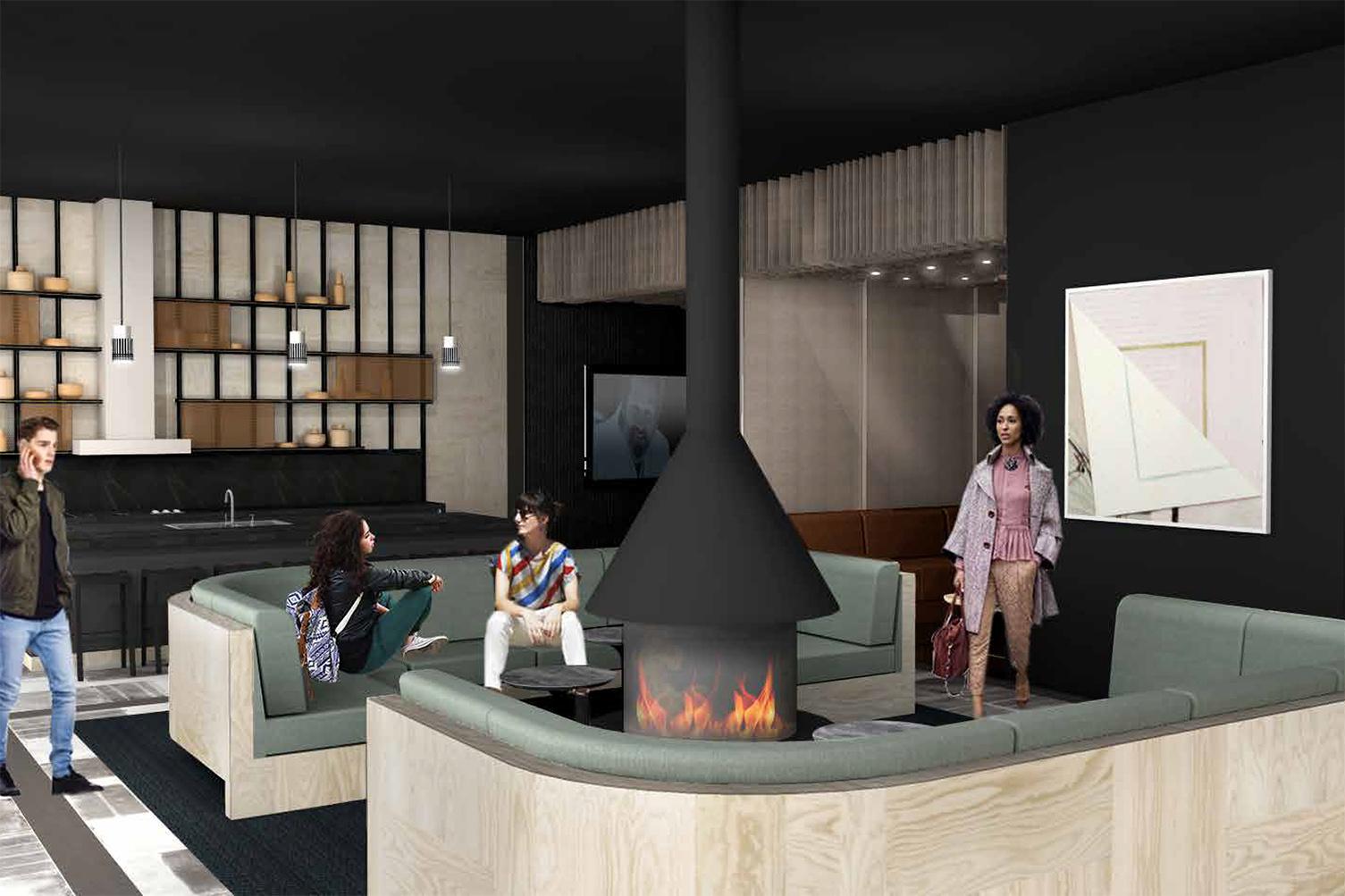 Vida Design Sky Lounge Render
