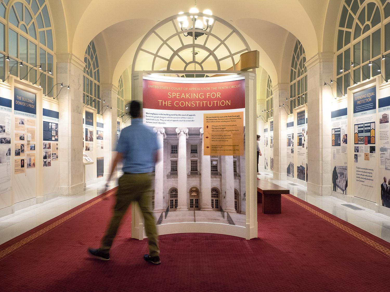 Tenth Circuit Court | Exhibit Entrance | Denver, CO