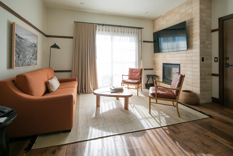 Huntington Lodge | Living Room | Bend, OR