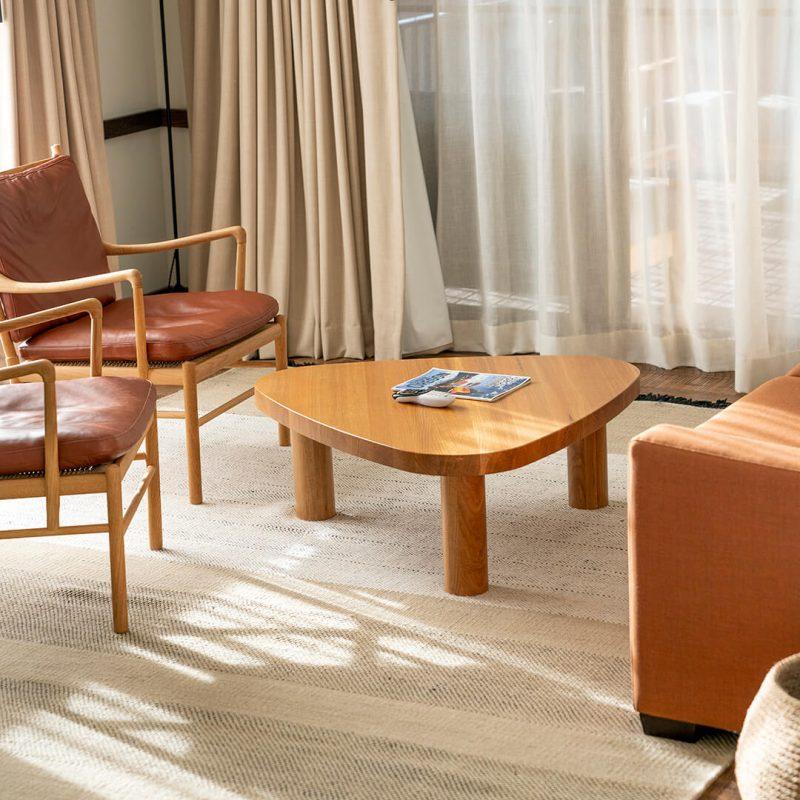 Huntington Lodge   Living Room Coffee Table   Bend, OR - Square