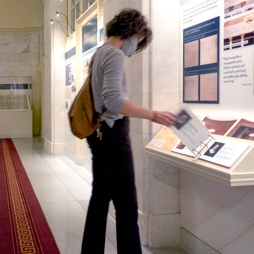 Tenth Circuit Court   Exhibit In Use - Square   Denver, CO